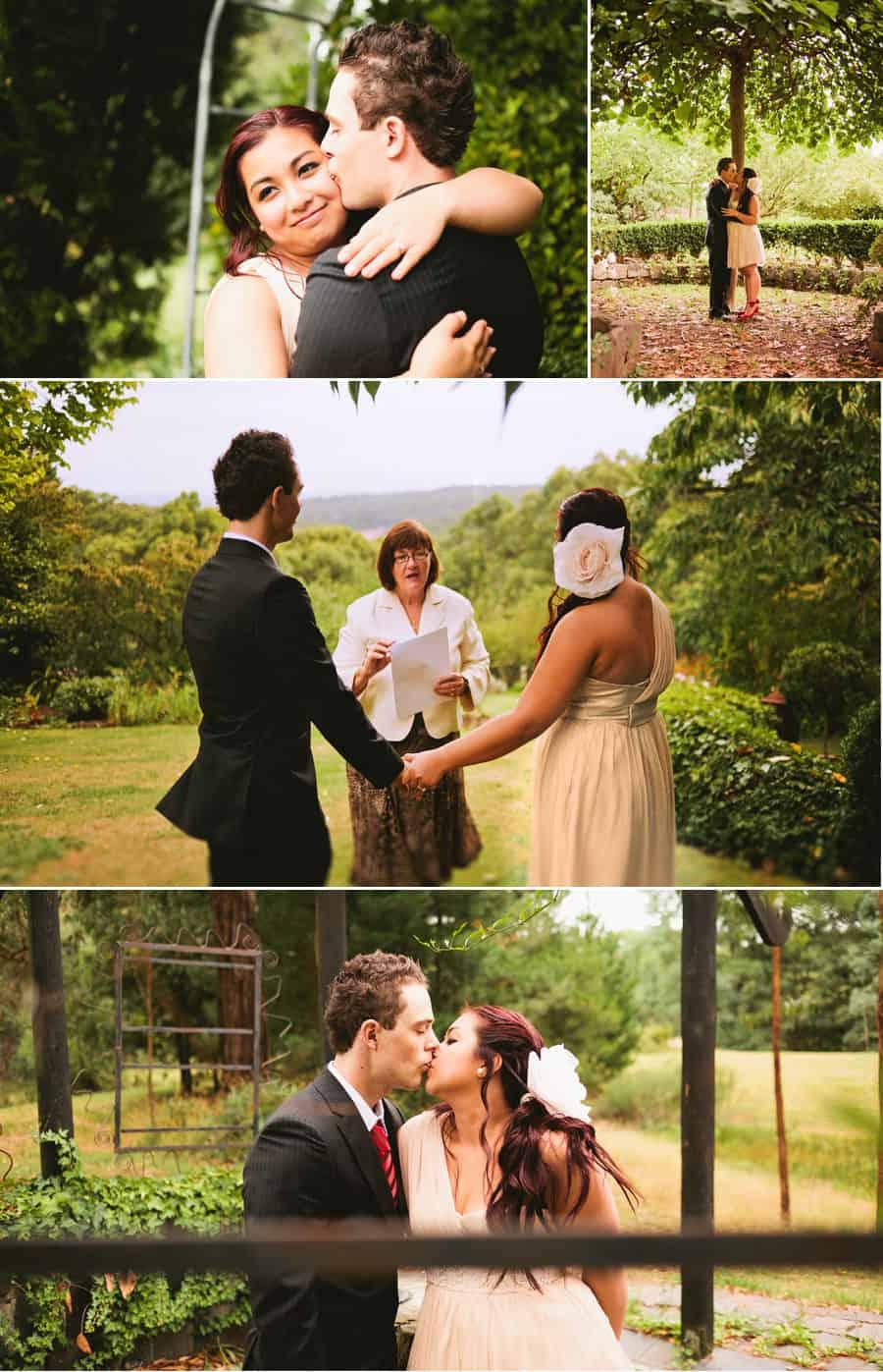 Dandenong Wedding Photography - Tim & Chella Garden Wedding
