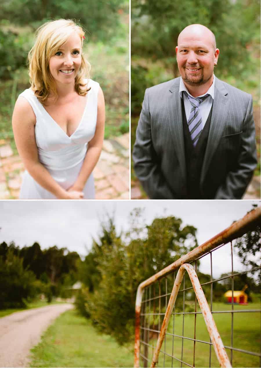 Haley & Rus Wedding - Bride & Groom