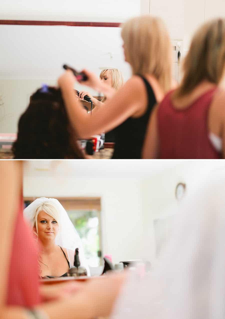 Getting Ready - Hair & Makeup 2 - Catheryn & Mick's Wedding