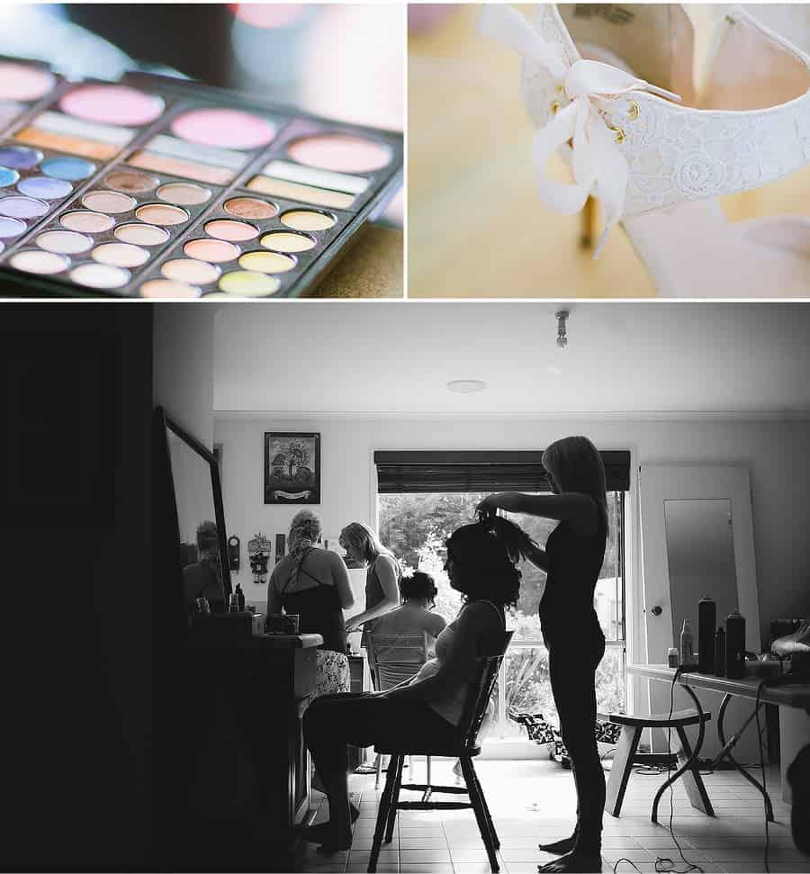 Getting Ready - Hair & Makeup 3 - Catheryn & Mick's Wedding