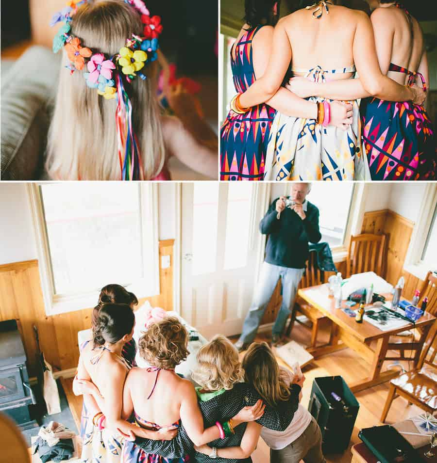 Natalie and Bridesmaids - Getting Ready 2