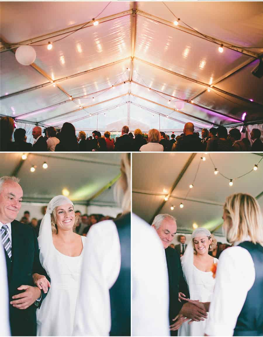 Ceremony - Giving away the Bride