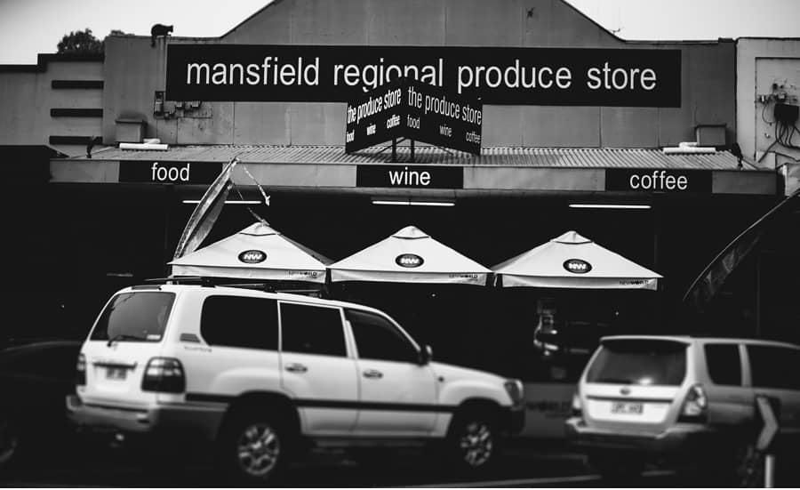 Breakfast with Bridesmaids at the Mansfield Regional Produce Store