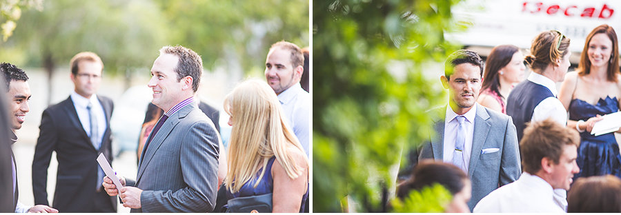 James & Lauren - Ceremony, Broadway Chapel - Wedding Guests 2