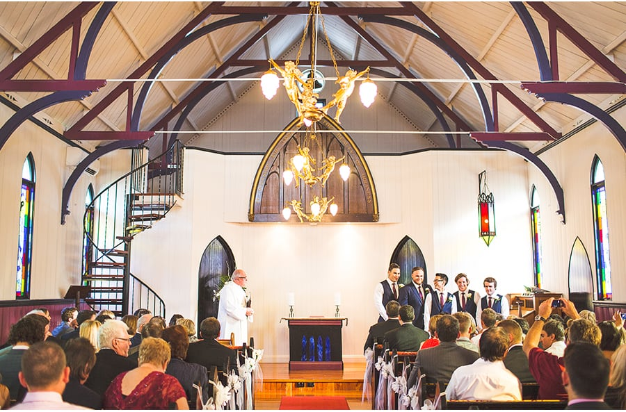 Broardway Chapel - James & Groomsment