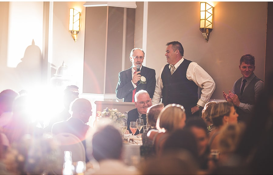 Speeches from father of the Bride