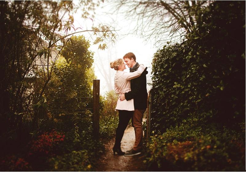 Simone & Brad | Couple Shoot | Gardens of Convent Gallery, Daylesford 2