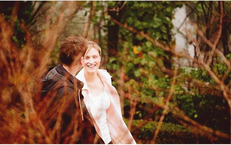 Simone & Brad | Couple Shoot | Walking Around the Gardens of Convent Gallery, Daylesford