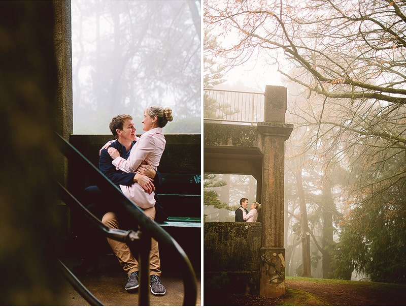 Simone & Brad | Couple Shoot | In the Tower of Wombat Hill, Dayleford