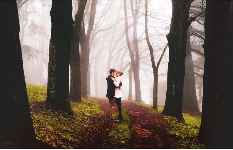Simone & Brad | Couple Shoot | Together in the Botanical Gardens, Dayleford
