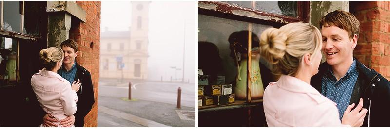 Simone & Brad | Couple Shoot | The Streets of Daylesford 2