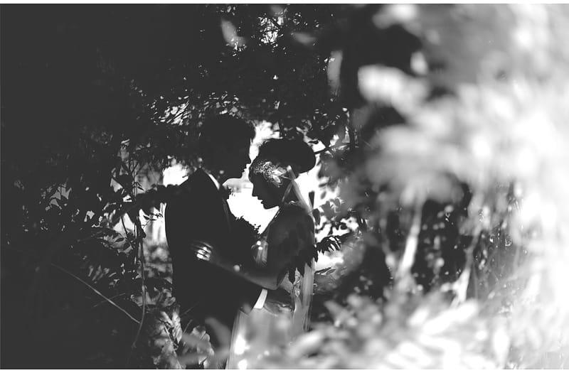 Sillhouette of Emma & Liam