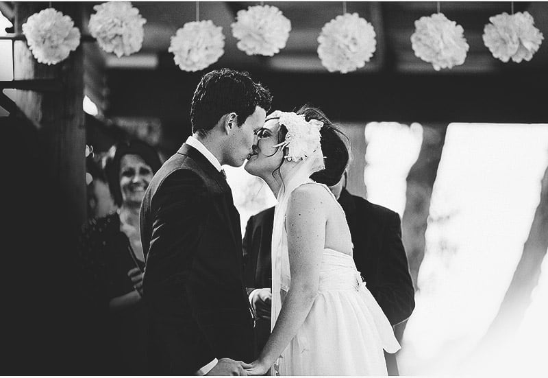 First Kiss - Emma & Liam's Wedding
