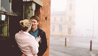 Brad & Simone's Engagement Session, Daylesford VIC