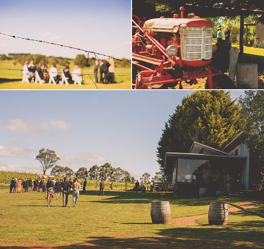 Daylesford Wedding Photography - Captain's Creek Winery, Blampied Victoria