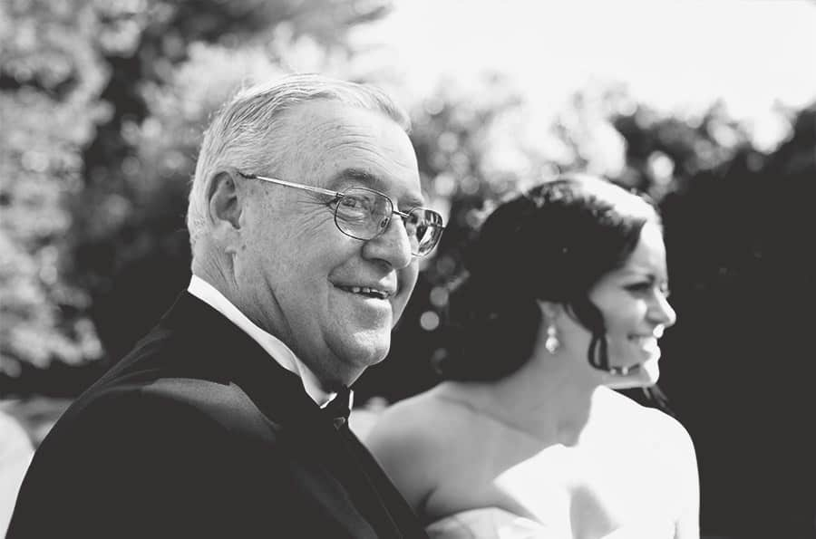 05-Father-walking-down-bride-Kristy-Daylesford-Wedding