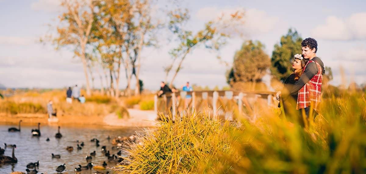 Engagement Photography at Lake Wendouree, Ballarat