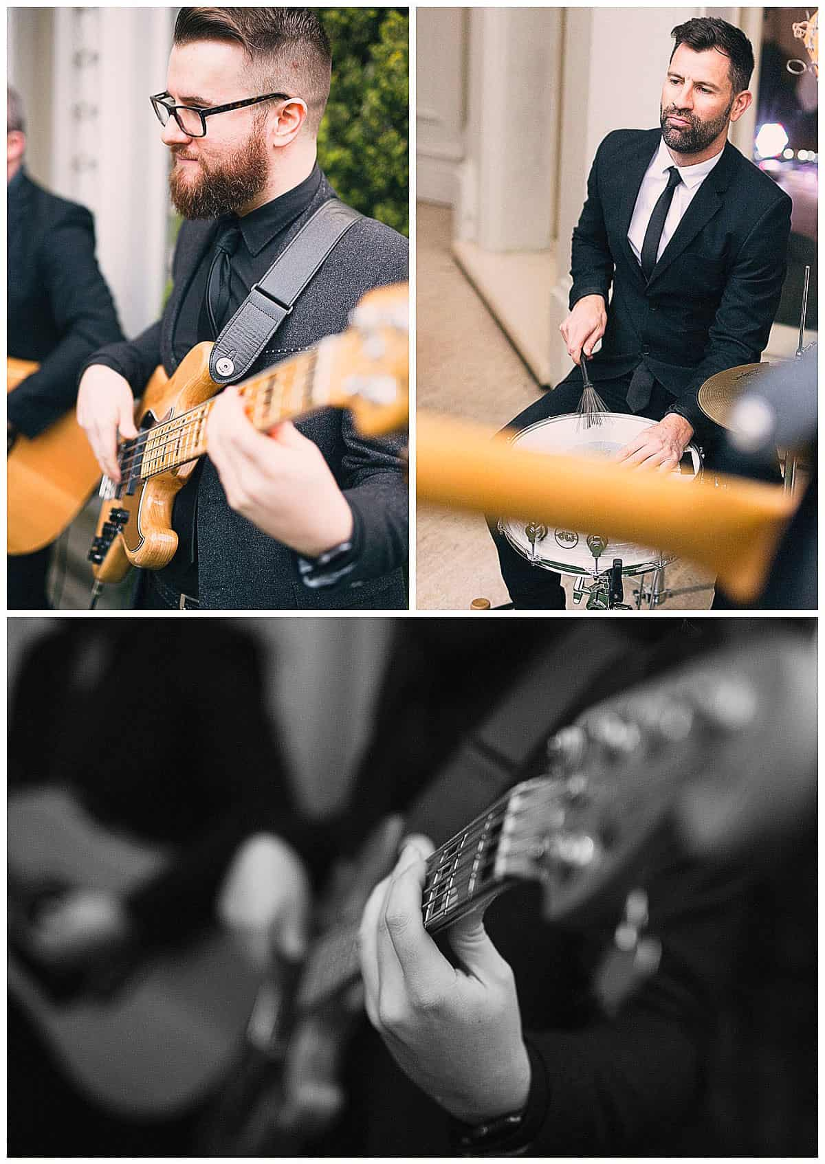Hacking Creative Wedding Photography - The Baker Boys Wedding Band