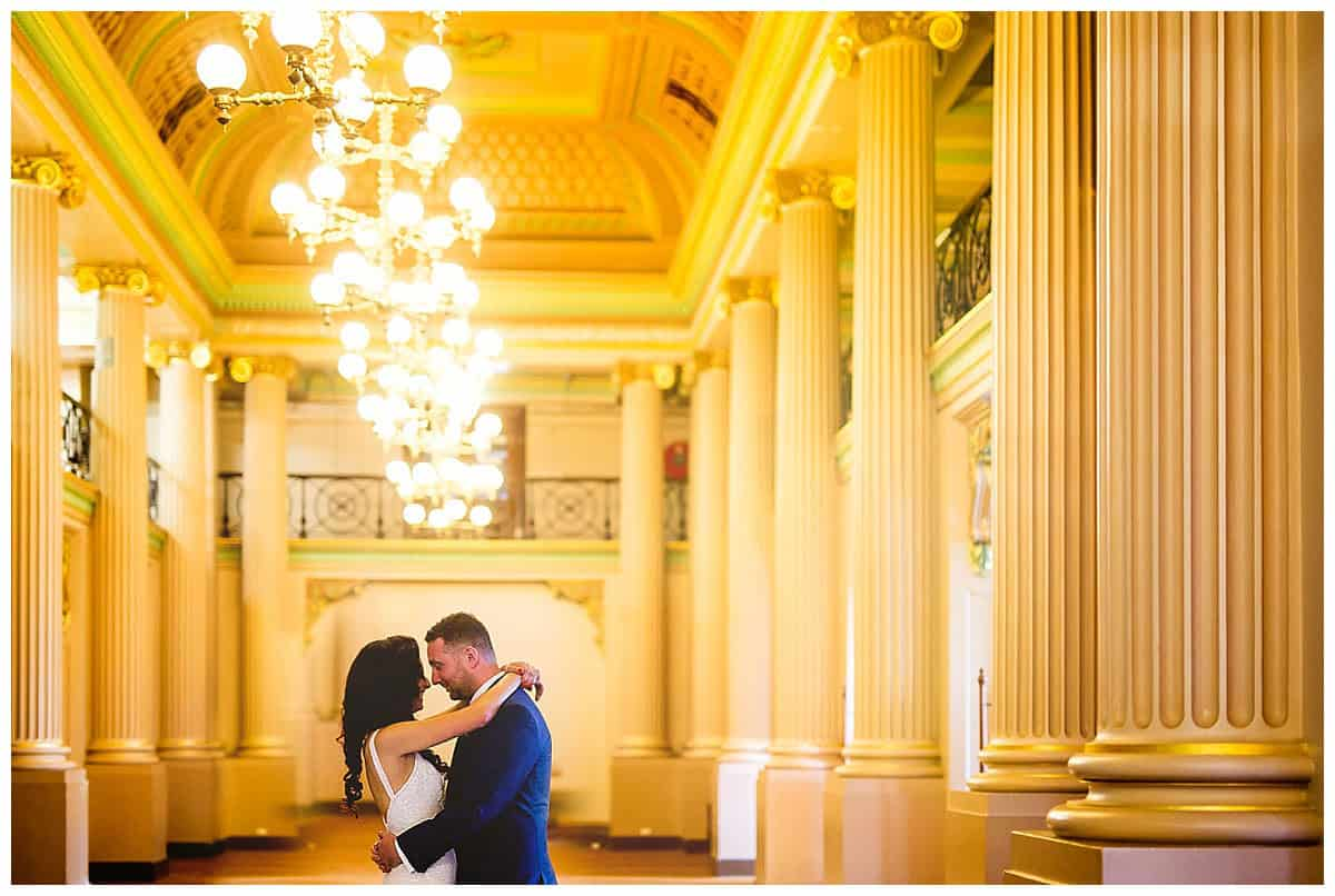 Natasa and Davor at the beautiful State Library in Melbourne