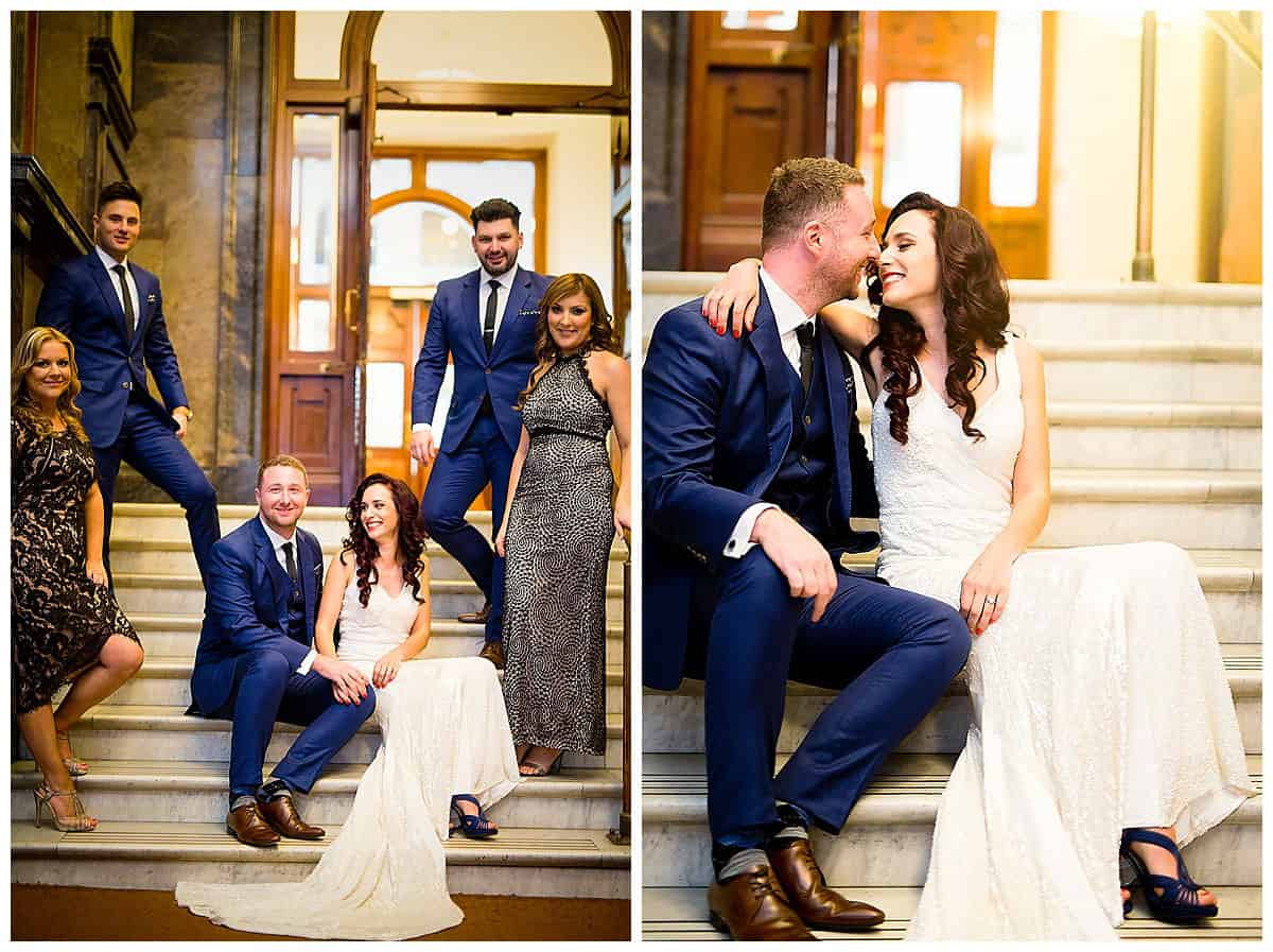Davor and Natasa's Wedding Party at Melbourne State Library